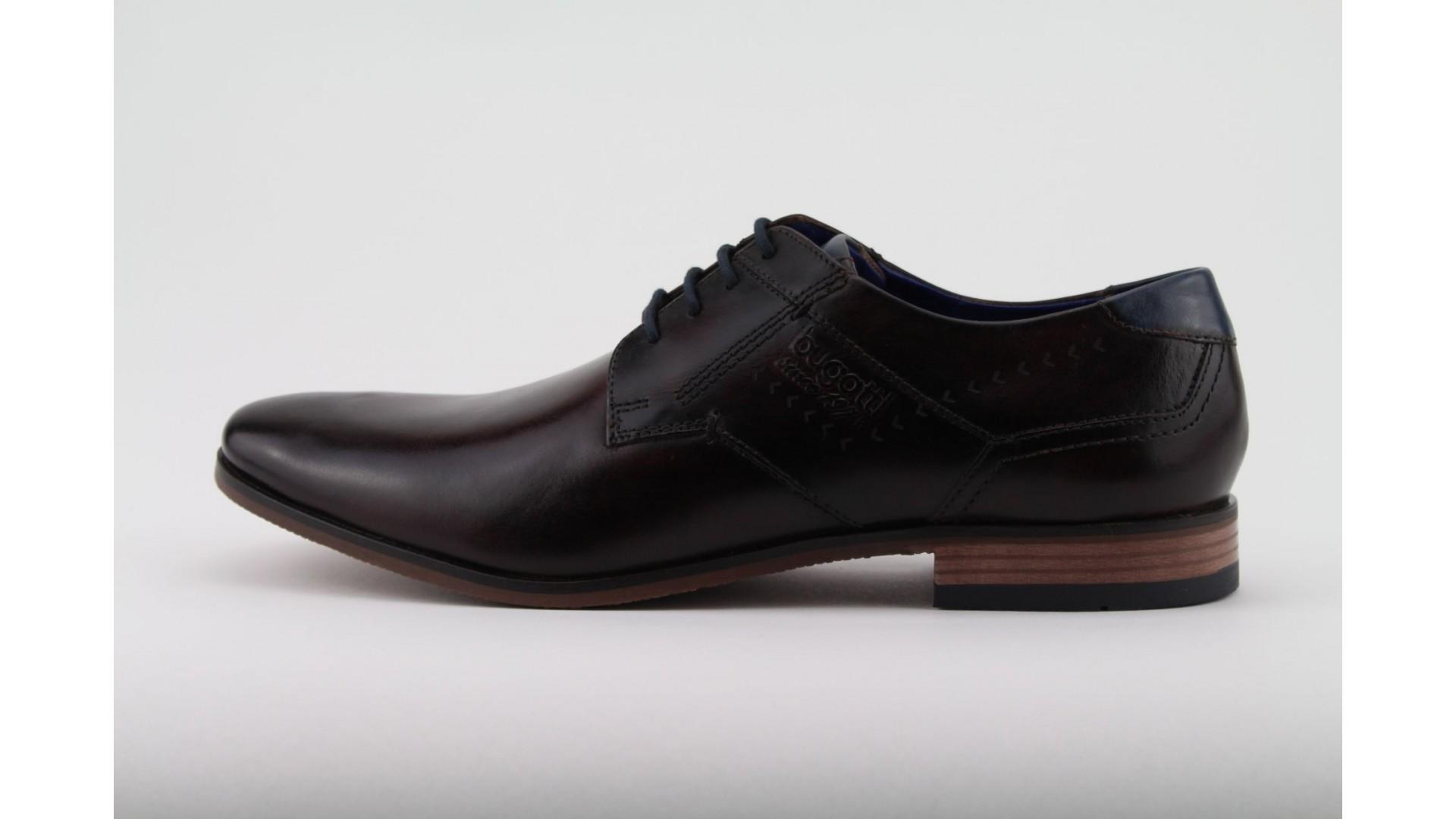 BUGATTI bordó bőr férfi cipő dde82a4d6e