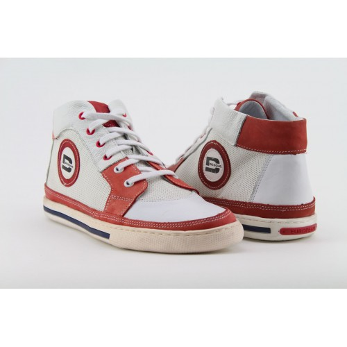 DESQUE fehér-piros cipő e5f801b6be