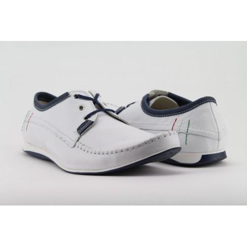 KENT fehér férfi cipő 37c621a364