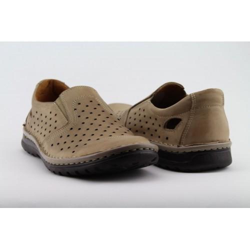 PAPILION világosbarna férfi cipő b5999ca718