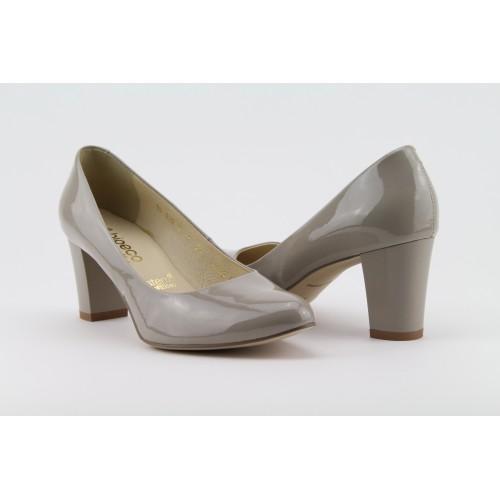 BIOECO szürke színű magassarkú cipő 6c4557c78d