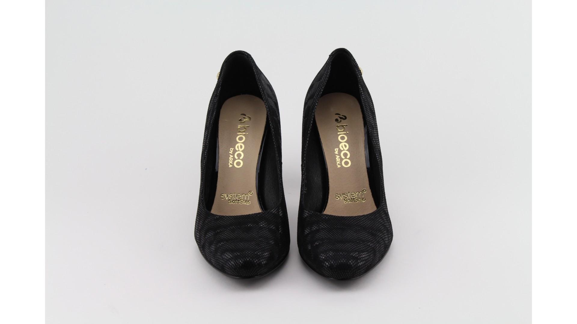 94c5430e972f Bioeco fekete magassarkú cipő