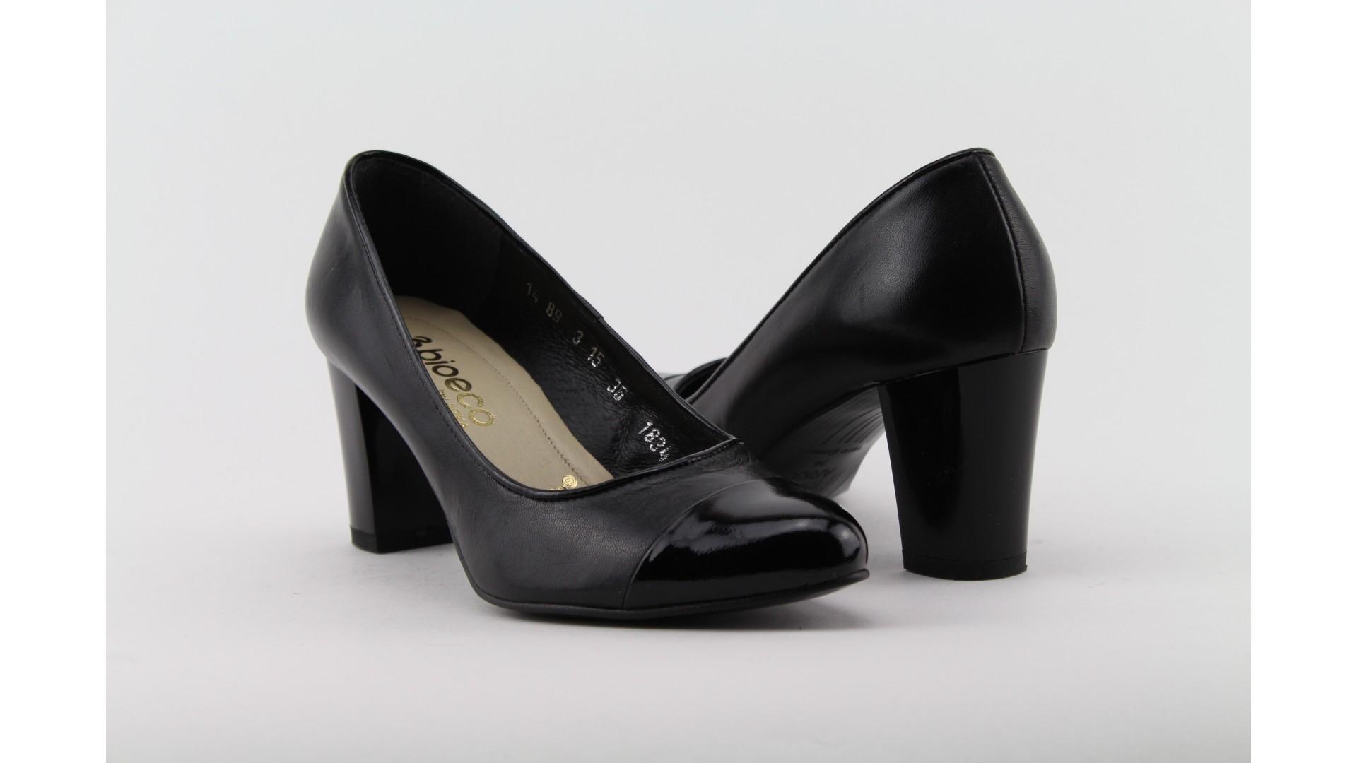 Bioeco fekete magassarkú cipő e8bb7dbc03