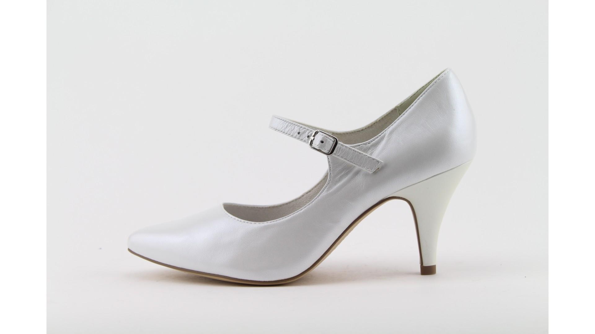 TAMARIS Fehér magassarkú cipő 7ebb86354b