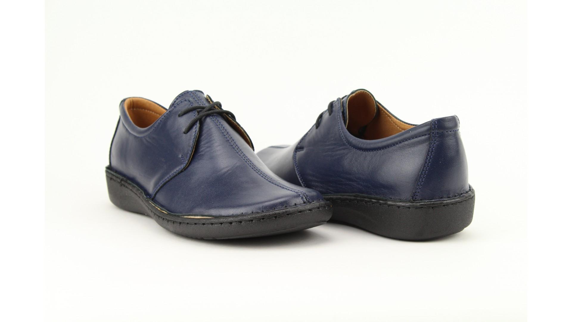 BIOBUT kék női bőr cipő d9a99c5b44