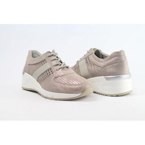 JEZZI róse női bőr sneaker